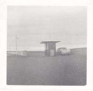 Entrance kiosk for Lakeshore Drive In