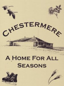 Chestermere A Home for All Seasons, over 600 pages of great stories and information --makes a great holiday gift.